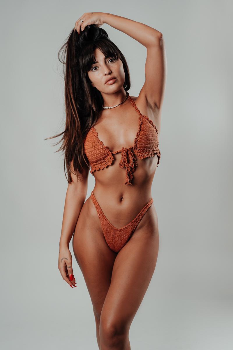 ensemble bikini hanohano caramelo vue de face