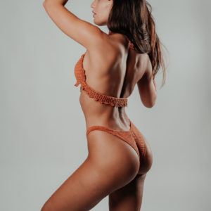 ensemble bikini hanohano caramelo vue de profil