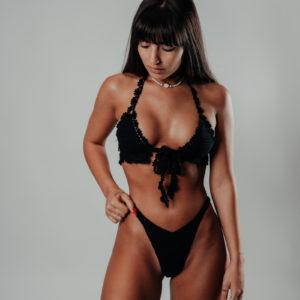 ensemble bikini hanohano classic black vue de face