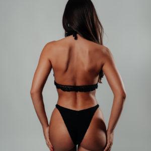 ensemble bikini hanohano classic black vue de dos