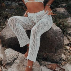 pantalon neela coconut vue face plage