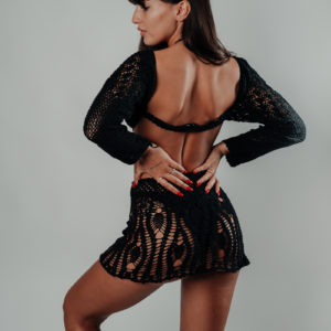 jupe sanaa classic black vue profil